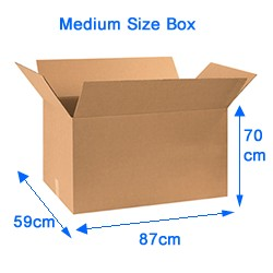 Medium size Box for Sea Freight - MDS Special Offer