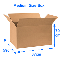 34 inches  Large box Only